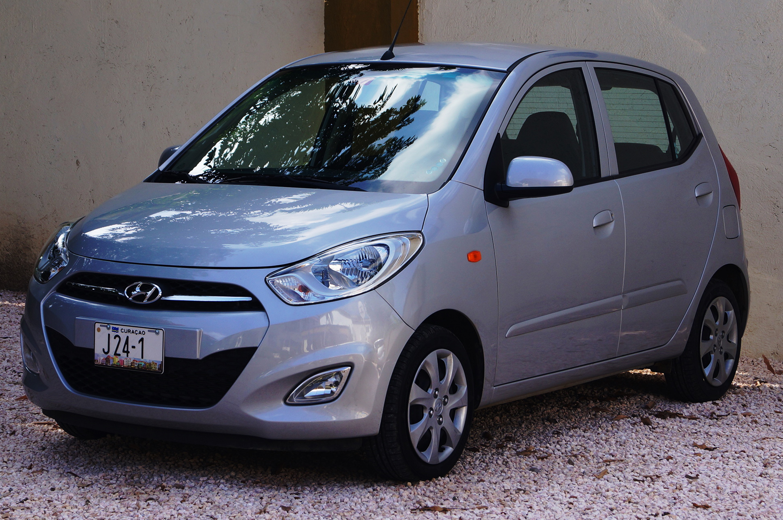 HYUNDAI i10 Mietwagen auf Curacao